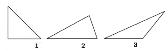 Right Acute And Obtuse Angles : Understanding triangle and its types mathstips