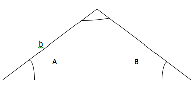 Figure 3: Two angles and one side given