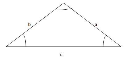 Figure 5: Three sides and no angle given